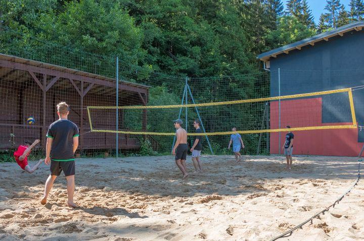 Beachvolleyballfeld beim CVJM