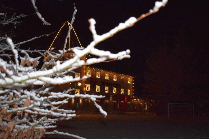 Winterimpressionen der Strobel-Mühle