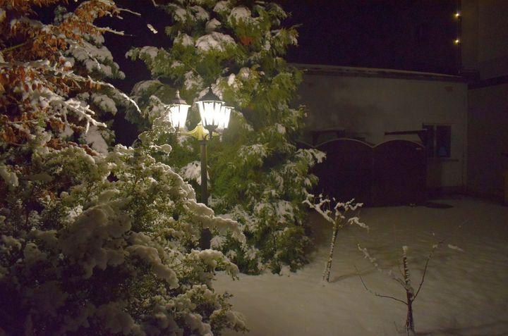 Winterimpressionen an der Strobel-Mühle